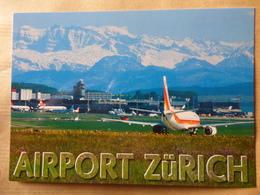AEROPORT / AIRPORT / FLUGHAFEN     ZURICH  KLOTEN - Aerodromi