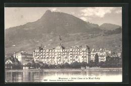 AK Montreux, Hotel Eden Et Le Mont Cubly - VD Waadt