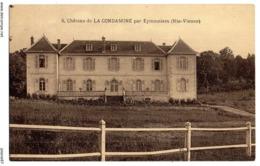 CPA       87     EYMOUTIERS          CHATEAU DE LA CONDAMINE - Eymoutiers