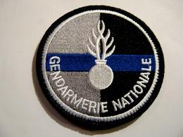 ECUSSON GENDARMERIE NATIONALE (BANDE BLEU) ETAT EXCELLENT SUR VELCROS - Police