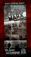 Aff Ciné Orig UN JOUR AU CIRQUE 60x30cm/1939/ Marx Brothers - Plakate & Poster