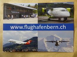 AEROPORT / AIRPORT / FLUGHAFEN    BERN-BELP - Aerodromi