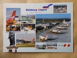 AEROPORT / AIRPORT / FLUGHAFEN    SALZBURG - MOZART - Aerodromi