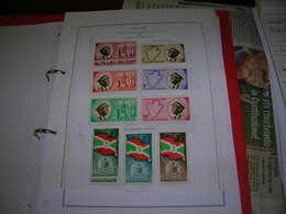 Burundi  PO. 1962 Indipendenza  Scott.25+See Scan On Foglio Album; - Burundi