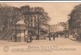 CHARLEROI / ENTREE DE LA VILLE / LA PASSERELLE  1914 - Charleroi