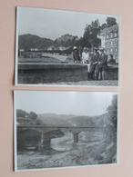 BOUILLON > Anno 1933 ( > Zie / Voir Photos ) 2 Stuks / Form. +/- 8 X 11 Cm.! - Orte