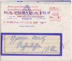 Lettre Pré-imprimée (R.S. Stokvis & Fils...), EMA 020f (SE0027, ...modernisez Votre Outillage...) Paris 26 Le 17 XII 57 - Fabbriche E Imprese