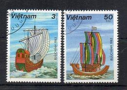 Vietnam - 1983 - Tematica Trasporti - Navi - 2 Valori - Usati - (FDC18779) - Vietnam