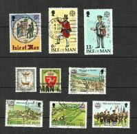 Ile De Man N°130, 135 à 142 Cote 4.20 Euros - Isle Of Man