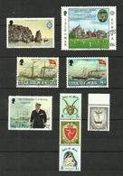 Ile De Man N°156, 158 à 160, 165 à 169 Cote 4.70 Euros - Isle Of Man