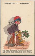 ILLUSTRATEUR GERMAINE BOURET  ETAT PARFAIT   ENFANT KINDER   1927 OURS TEDDY PELUCHE BAREN  BAROMETRE MIRACULEUX RARE - Bouret, Germaine