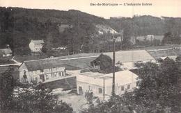 C P A 76 Seine Maritime Bec De Mortagne Industrie Linière Lin 1914 1918    Normandie Agricole - France