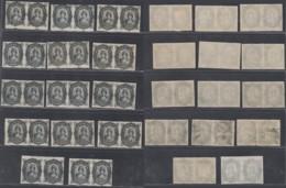 ESPAGNE TIMBRES FISCAUX 13 PAIRES EN NOIR (1890)   (BE) DC-5172 - Fiscaux