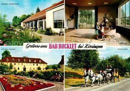 72630467 Bad Bocklet Bei Kissingen Kurhaus Postkutsche  Bad Bocklet - Unclassified
