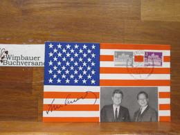 Original Autograph John F. Kennedy 1963 /// Autogramm Autograph Signiert Signed Signee - Autogramme & Autographen