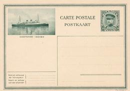 Entier Illustre Neuf Oostende-Dover Paquebot 35 C. - Cartes Illustrées
