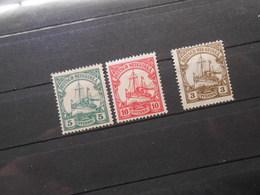 D.R.Mi 21 L/22 L/ 24*MLH -  Deutsche Kolonien (Neuguinea) 1914/1919 - Mi 10,00 € - Colony: German New Guinea