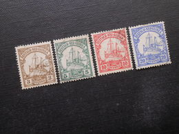 D.R.Mi 7-10 - 3/5/10/20/Pf - Deutsche Kolonien (Neuguinea) 1900 - Mi 11,00 € - Colony: German New Guinea