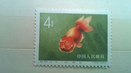 China 1960 MNH Goldfish - Unused Stamps