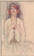 Femme Art Nouveau.  Scan - Mauzan, L.A.