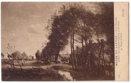 Corot - La Route D'Arras /P513/ - Peintures & Tableaux