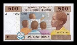 Central African St. Gabon 500 Francs 2002 (2015) Pick 406Ac SC UNC - Gabon