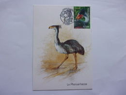 Oblitération Rinxent Animaux Préhistoriques Phorusrhacos - Préhistoriques