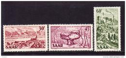 SARRE, MI 285/7, YT 288/90 **  MNH. (4A161) - 1947-56 Occupation Alliée