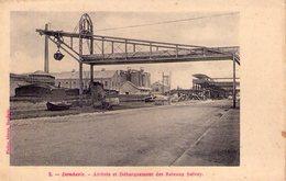 CPA - DOMBASLE Sur Meurthe - Arrivée Et Débarquement Des Bateaux SOLVAY - Péniche - Non Classés