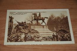 1445-    ANVERS  ANTWERPEN, MONUMENT DER GESNEUVELDEN EN STANDBEELD VAN ALBERT I - Antwerpen