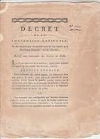 An 2 - 1714 - Décret Relatif Aux Indemnités Des Maitres De Poste - Imprimerie Polere Carcassonne Aude - 4 Pages - Historische Dokumente