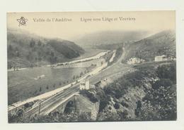 Ligne Vers Liège Et Verviers -chemins De Fer  Carte éd. Sté Coopérative St.-Antoine - Amblève - Amel