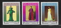 NICARAGUA  ( AMNI - 7 )  1973  N° YVERT ET TELLIER   N° 939/941  N** - Nicaragua