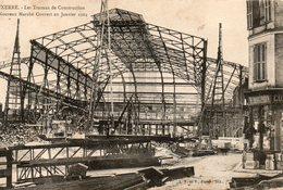Auxerre -   Les  Travaux  De  Construction  Du  Nouveau  Marché  En  Janvier  1904. - Auxerre