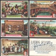 Liebig - Vintage Chromos - Series Of 6 / Série Complète - L'eau Chez Les Anciens Romains Et Egyptiens - En Français - Liebig