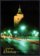 D0172 - TOP Osterburg Nachtaufnahme - Bild Und Heimat Reichenbach Qualitätskarte - Osterburg