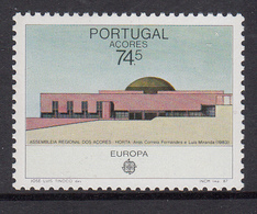 Azoren MNH Michel Nr 383 From 1987 / Catw 2.50 EUR CEPT - Azores