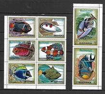 Manama 1971 Tropical Fishes MNH - Manama
