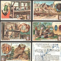 Liebig - Vintage Chromos - Series Of 6 / Série Complète - Pierres Précieuses - Français - Liebig