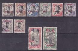 Mong Tze - Yvert N° 34A/40,42 Et 47/48 */oblitérés - Cote 56 € - Mong-tzeu (1906-1922)