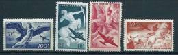 """FR Aerien YT 16 à 19 (PA) """" Série Mythologique """" 1946-47 Neuf** - Airmail"""