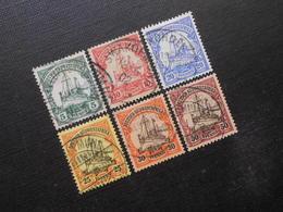 D.R. 12-16/18   Deutsche Kolonien (Deutsch-Südwestafrika) 1901 - Mi 17,80 € - Colony: German South West Africa