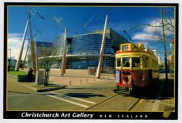 NEW  ZELAND        TRAIN- ZUG- TREIN- TRENI- GARE- BAHNHOF- STATION- STAZIONI  2 SCAN  (VIAGGIATA) - Treni