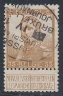"Pellens - N°113 Obl Ovale (Bilingue) ""Brussel Nieuwsbladen / Bruxelles Journaux"" - 1912 Pellens"