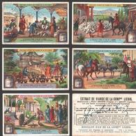 Liebig - Vintage Chromos - Series Of 6 / Série Complète - La Volaille Dans La Vie De L'homme - En Français - Liebig