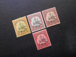D.R. 15/17/18/19**MNH   Deutsche Kolonien (Deutsch-Südwestafrika) 1901 - Mi 30,00 € - Colony: German South West Africa