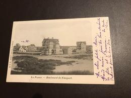 De Panne - La Panne -  Boulevard De Nieuport  - Ed. Decrop - Gelopen 1902 - De Panne