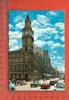 CPM  AUSTRALIE : Melbourne, Bourke Street With Elisabeth Street, Poste Office - Melbourne