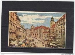 AUTRICHE 1921, 227 (x2) SUR CARTE POSTALE WIEN FREYUNG. (3CF167) - Églises