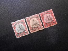 D.R. 17/18/19*MLH   Deutsche Kolonien (Deutsch-Südwestafrika) 1901 - Mi 7,40 € - Colonia: Sudafrica – Occidental